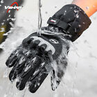 Winter Motorcycle Motorbike Gloves Waterproof Touch Screen Hard Knuckle Warm