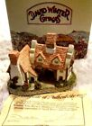 David Winter Cottages THE SCHOOLHOUSE 1985 3 in. Hand painted made