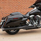 SS Cycle Black Sidewinder 2 into 1 Exhaust System 550 0772A