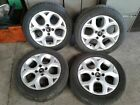 CITROEN C3 16 INCH ALLOY WHEELS WITH 195 55 R16 TYRES SET OF 4 6JX16CH