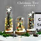 Mini LED Christmas Tree Decorations Glass Cover For Home Xmas Nativity Ornaments