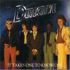 DETECTIVE - It Takes One To Know One - CD - **Mint Condition** - RARE