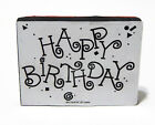 Stampin Up Happy Birthday Foam Mounted Rubber Stamp Retired 1994