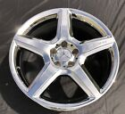 1 NEW CHROME 19 MERCEDES BENZ CLS55 CLS63 AMG OEM WHEEL RIM 65375 FRONT