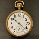 E Howard Keystone Howard Pocket Watch 16s Series 11 Railroad Chronometer