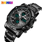 Fashion Watch Multi-functional Business Men's Electronic Steel Band Watch、 E6T0