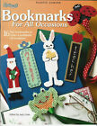 Plastic Canvas Bookmarks For All Occasions Pattern Book Santa Bunny Butterfly