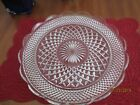 Wexford large vintage cake plate or serving tray 14 inch Anchor Hocking