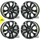 20 Chevrolet Traverse Black wheels rims Factory OEM 2018 2019 2020 set 4 5848
