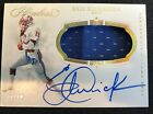 Eric Dickerson 2019 Panini Flawless Collegiate Patch On Card Auto 10