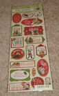 KCompany Adhesive Chipboard Yuletide Words Images