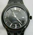 Men's Black Pulsar Stainless Analog Watch with Luminous Hands #PXHA27