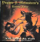 2 PROMO CD Yngwie Malmsteen War To End All Wars & ETHAN BROSH Out of Oblivion