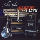 JOHN SYKES - Bad Boy Live - CD - Import - **Excellent Condition** - RARE