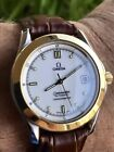 VINTAGE OMEGA Ω SEAMASTER AUTOMATIC CHRONOMETER 18K SOLID GOLD/SS 120M 2301.20