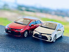 118 Scale TOYOTA COROLLA 2019 Metal Diecast Model Car collection and Decoration