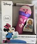 DISNEY My First Microphone Pink Minnie Mouse Kidss Toddler Sing Along Songs Toy
