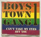Can't Take My Eyes Off You by Boys Town Gang (1996, CD single) Very Good - Rare
