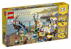 Lego Creator Pirate Roller Coaster (31084) Built-Complete With Instructions