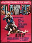 BLOW UP Original French poster Directed by Michelangelo Antonioni 1969