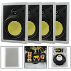 4 Pack 65 In Wall Speakers 2 Way 60W RMS DCM By MTX Premium Home Audio Pro