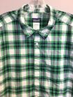 Patagonia 2 Plaid Shirts Blue and Green Size Large One Owner Good Condition
