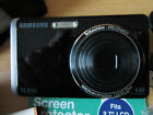 BLACK  SAMSUNG ST500 TOUCHSCREEN 12.2MP CAMERA IN VERY GOOD CONDITION