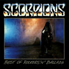 The Best of Rockers 'N' Ballads by Scorpions (Like New CD)
