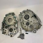 2010 Kawasaki KLX250SF Engine Bottom End Case Half Set KLX 250 SF Supermoto