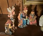 Kirkland Nativity camel ox sheep Joseph Mary wise men angel set pieces