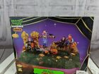 Lemax halloween village spooky candy thief accent table 371817 scarecrow home bu