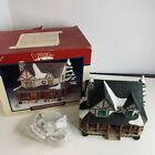 1997 Lemax Vail Village HUNTERS LODGE #75259 Train Fairy Snow  Lighted House