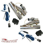 2Pcs W One Controller Remote Electric Exhaust Downpipe 25 E Cut Out Valve Kit