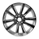 Polished 10 Spoke 18X7 Factory wheel 2012 2014 Dodge Avenger