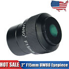 F15mm Ultra Wide Angle 80 2 Telescope Eyepiece Fully Multi Coated +Track US