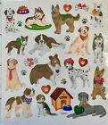 Puppy Love Dog Glitter Stickers Pets Animals Stickers Planner Papercraft Party