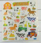 Farm Barnyard Animals Stickers Planner Papercraft Journal Party Cow Horse Sheep