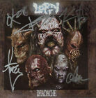 [RARE] AUTOGRAPHED - Lordi - 'Deadache' [CD + One Sheet Cover Art] + COA