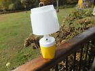 Vintage Emergency Camping Blackout Table Lamp Light With Shade Ray O Vac No 100