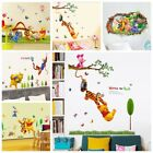Winnie the Pooh Friends Wall Stickers Vinyl Decal For Kids Rooms Removable PVC