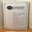 Creative Memories 8 x 10 White Scrapbook pages 15 sheets 30 pages RCM 10S SEALED