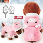 Puppy Dog Pet Clothes Hoodie Winter Jumpsuit Apparel Cute Jumpers Coat Costume