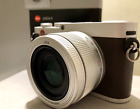 Leica X Typ 113 16.1MP 18441 - Silver Brown with the case