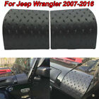 Diamond Plate Cover Trim ABS Plastic For Jeep Wrangler Jk Unlimited 2007 2016