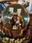 KIRKLAND Signature Musical Nativity Triple Water Globe Revolving Base