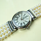 Lovely ESQ by Movado Ladies Watch - MOP Dial - Pearl Bracelet - E5367