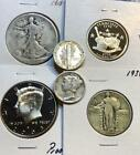Grab Bag  20 US Coins w Silver BU  Proof Included  GREAT GIFT NO RESERVE