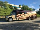 2014 Dynamax DX3 37BH HD 39 Class C Diesel Motorhome 2 Slide Outs Awning 2 ACs