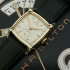 Vintage 1950 Mans Hamilton CLYDE Hand Wind Fully Serviced Ready To Wear