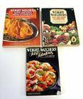 Weight Watchers WW Vintage Cookbooks Lot of 3 1980s Softcover
